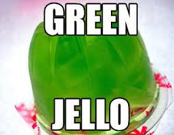Green Jell-O Mold